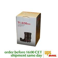 Samyang 35mm T1.5 VDSLR AS UMC II for Canon M