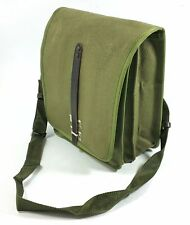 MILITARY CANVAS SHOULDER BAG POLISH ARMY SURPLUS OD GREEN POUCH BACKPACK  UNUSED