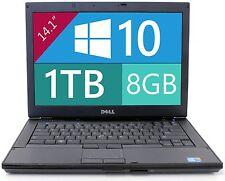 """Dell Laptop Latitude E6410  Windows 10 Core i5 2.6Ghz 8GB RAM 1TB HD DVDRW 14"""""""