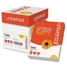 Universal White Copy Paper, 5 Reams/Case - Unv11289