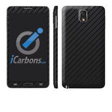 Samsung Galaxy Note 3 - Black Carbon Fiber Vinyl Skin by iCarbons