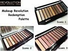 MAKEUP REVOLUTION REDEMPTION PALETTE * DUPE NAKED 1 2 3 * Guarda gli sconti!