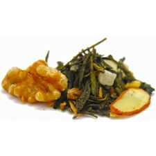 Caramel, Maple and Walnut Green Loose leaf tea, 4 oz + free sample