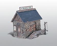 HO Woodland Scenics 219 Unpainted Metal kit * Ice House