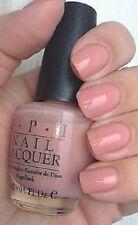 OPI Nail Polish Lacquer Enamel Varnish R39 Rose Petals dusty pink 15ml NEW!