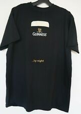 Guinness Beer Guinness By Night T Shirt Black Medium ( M ) Relaxed Fit