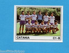 PANINI CALCIATORI 1989/90 -Figurina n.537- CATANIA - SQUADRA -Recuperata