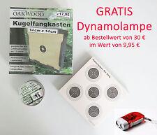 SET- KUGELFANGKASTEN + 50 ZIELSCHEIBEN 5ER-RING + 500 SCHUSS DIABOLO BASIC