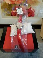 Tissot T101.210.16.031.03 Women's PR 100 Leather Silver Dial