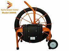 Kyrie Cam 2000S, 200 ft pipe inspection camera, sewer main 512hz Sonde, 200'