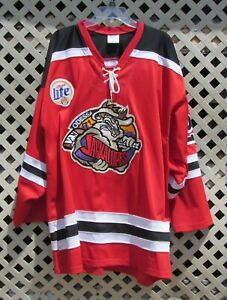 AIS CHL Odessa Jackalopes #23 Margettie Autographed Hockey Jersey Size 52