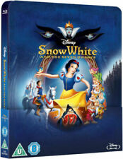 Disney Snow White and The Seven Dwarfs Steelbook Blu Ray Lenticular