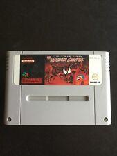 Super Nintendo Entertainment System Game - Spider Man Venom Maximum Carnage PAL