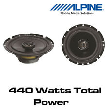 "Toyota Aygo 2014> Alpine SXV-1725E -6.5"" 17cm 2-Way Coaxial Speakers"