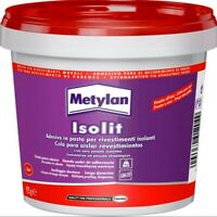 Metylan Isolit 925 gr isolante adesivo acrilico colla per rivestimenti pannelli