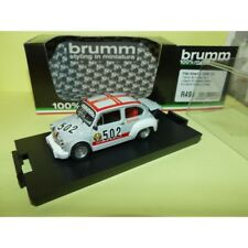 Brumm Bm0499 Fiat Abarth 1000tc N.502 Trento Bondone 1974 U.smittarello 1 43 mod
