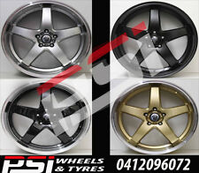 "20"" INCH HRS R1 WHEELS RIMS DEEP DISH HOLDEN COMMODORE VF VE HSV REDLINE SS SSV"