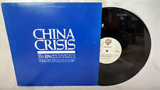 """China Crisis 12"""" Single The Highest High/Gift of Freedom WB Flaunt Rare 80s NM"""
