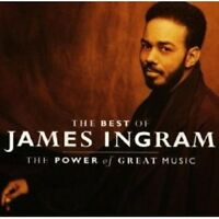 JAMES INGRAM - POWER OF GREAT MUSIC,THE-BEST CD POP NEW!