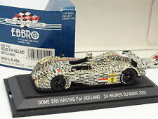 Ebbro 1/43 - Dome S101 Racing Holland Le Mans 2001 N°9