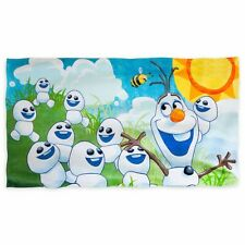 Disney Store Olaf Frozen Fever Beach Bath Towel Girls Boys Swimwear Gift New