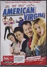 AMERICAN VIRGIN - JENNA DEWAN - ROB SCHNEIDER - BRIANNE DAVIS  -  DVD - NEW