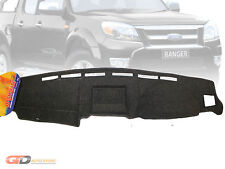 DASH MAT Ford Ranger PJ-PK 10/2006-9/2011 DM1024 in Charcoal XL XLT (BLACK AVAI)