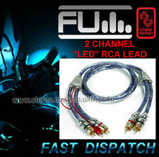 Fli 1m 2 Channel Car Amplifier Amp RCA Phono Lead Cable