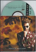 FRANK BOEIJEN - koud in mijn hart CD SINGLE 2TR CARDSLEEVE 1991 HOLLAND