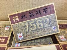 2010yr Yunnan Menghai Tea Factory Dayi 7562 Pu'er Tea/Ripe/Shu/250g/Brick