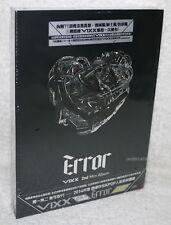 Vixx 2nd Mini Album Error 2014 Taiwan Ltd CD+DVD+71P+Card (digipak)