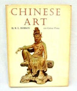 Chinese Art Hardback Book R.L. Hobson 100 Colour Plates 1964