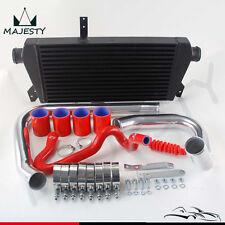 Upgrade Front Mount  Intercooler Kit For 96-01 VW Passat Audi A4 B5 1.8T Red