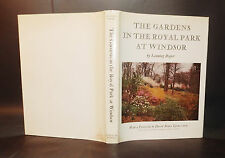 1959 Roper GARDENS IN THE ROYAL PARK AT WINDSOR 1st Edn Illustrated