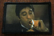 Al Pacino Scarface Morale Patch Tactical ARMY Hook Military USA Badge Flag