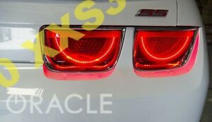 ORACLE Chevrolet Camaro 10-13 RED LED Tail Light Halo RINGS Afterburner
