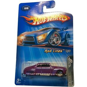Hot Wheels Red Lines 5/5. #100 Tail Dragger, New! NIP