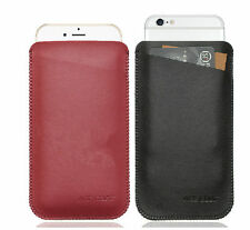 """A Leather Case Cover Sleeve for Iphone 6 Plus 6S Plus 5.5"""" Samsung Note 4/Note 5"""