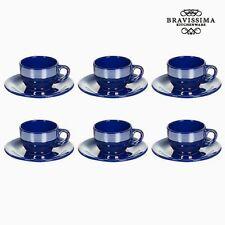Tazas Kitchen color principal azul