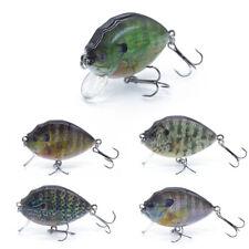 "2.5"" 14.5g Bluegill Crankbait Fishing Lure Fake Fishing Bait Bass Pike Tackle"