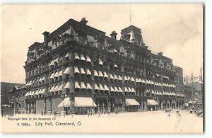 City Hall, Cleveland, Ohio - c1905 UDB Rotograph Postcard