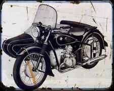 Bmw R 67 3 A4 Photo Print Motorbike Vintage Aged