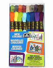 DMC New Colors Embroidery Cross Stitch 16 Skein Floss Set #117F25CM16