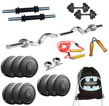 GB PRODUCT 10 KG WEIGHT LIFTING GYM SET PACKAGE