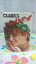 Vintage CLAIROL LOCK'NROLL Thermal Hair Curler in Excellent Condition 1990's