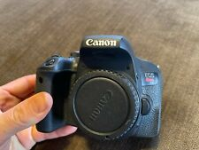 Canon EOS Rebel T7i 24.2 MP Digital SLR Camera - Black (Body Only)