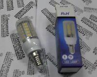 lampada a led 10W E14 lampadina 33 SMD luce bianca calda R&H 3500K
