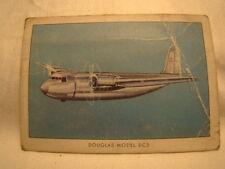 Wings Cigarette Card Unlettered Number Forty Six Douglas Model DC5 Transport 45