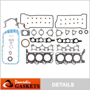Fits 99-05 Suzuki Grand Vitara Chevrolet Tracker 2.5L DOHC Full Gasket Set H25A