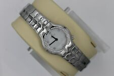 Tag Heuer Alter Ego Watch Womens Diamonds WAA1416.BA0760 Mint Crystal White MOP